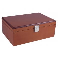Figurenbox Mahagoni Design [klein]