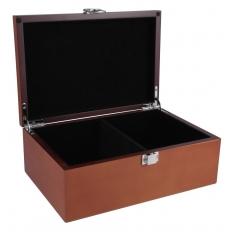 Figurenbox Mahagoni Design - 21cm
