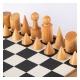 Schachspiel Bauhaus Style - 40cm
