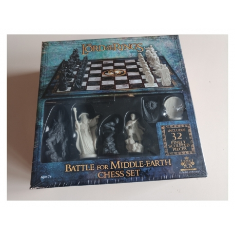Schachspiel The Lord of the Rings - Battle for Middle-Earth (Defekte Verpackung)