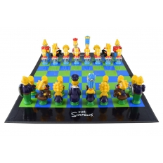 The Simpsons Schachspiel - 43cm
