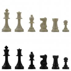 Schachfiguren American Ivory - 94mm