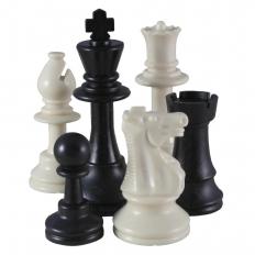 Schachfiguren American [Ivory]