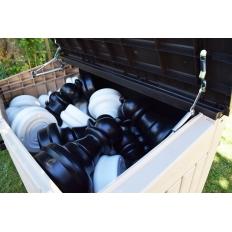 Gartenschachbox Kunststoff - 1.21m