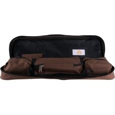 Reisetasche Schachspiel rollbar [brown]