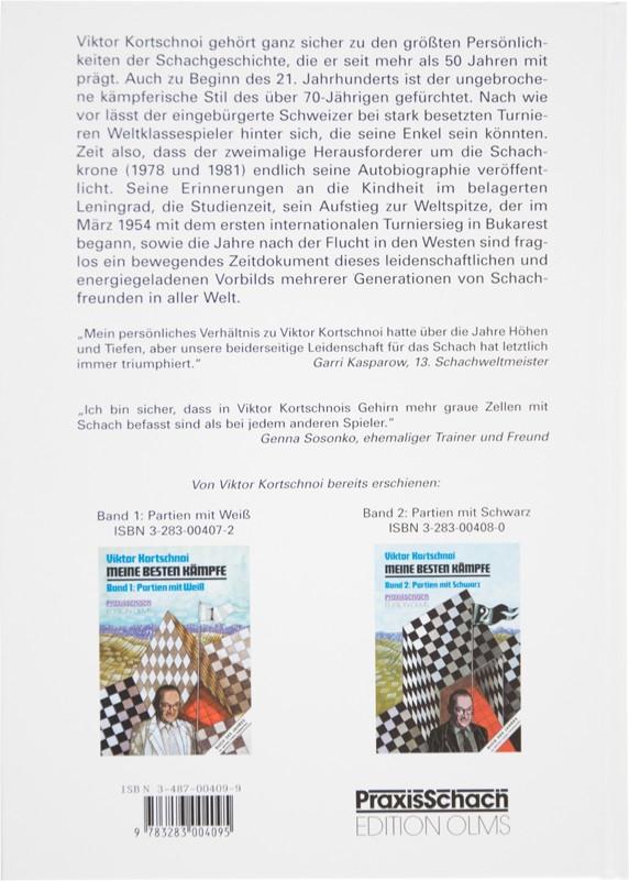 Kortschnoi 4250 Partien auf CD OLMS Mein Leben für das Schach Autobiographie
