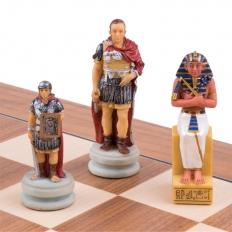 Schachspiel Römer vs Ägypter - 50cm