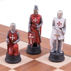 Schachspiel Kreuzritter - 50cm