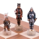Schachspiel Samurai