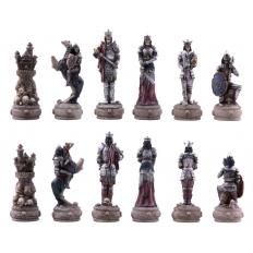 Schachfiguren Die Untoten - 80mm