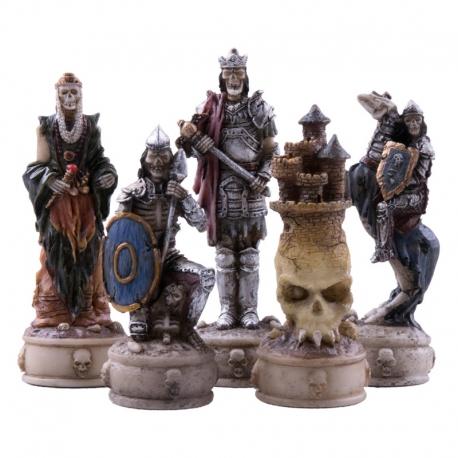 Schachfiguren Die Untoten