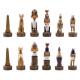 Schachfiguren Antikes Ägypten