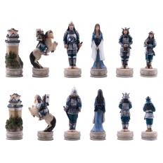 Schachfiguren Samurai - 80mm