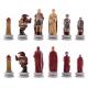Schachfiguren Römer vs Ägypter