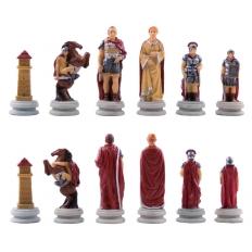 Schachfiguren Römer vs Ägypter - 80mm