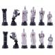 Schachfiguren Kreuzritter