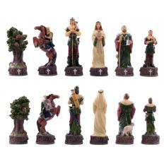 Schachfiguren Robin Hood - 80mm