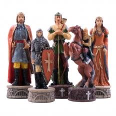 Schachfiguren Robin Hood