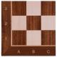 Turnier Schachspiel Mahagoni - 54cm