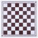 Schachbrett Kunststoff CPS Logo [54DEK]