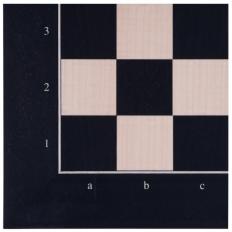 Schachbrett Anigree / Ahorn RFK - 50cm
