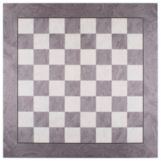 Schachbrett Vogelahorn / Esche Gray [55RF]