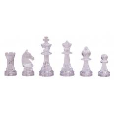 Schachfiguren Bernstein Design - 95mm
