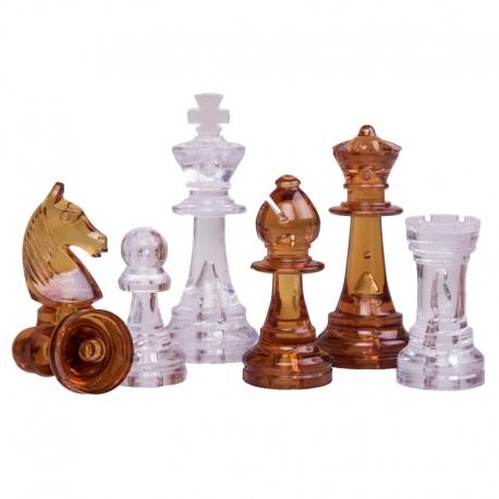 Schachfiguren Bernstein Design