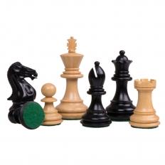 Schachfiguren Royal Staunton [Schwarz]