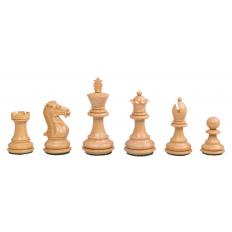 Schachfiguren Royal Staunton Schwarz - 90mm