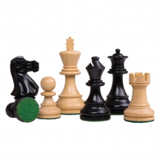 Schachfiguren Modern Staunton [Schwarz]