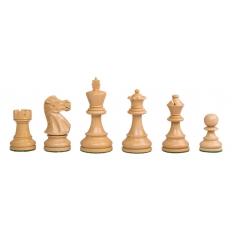 Schachfiguren Modern Staunton Schwarz - 95mm