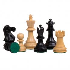 Schachfiguren Jaques Staunton klein [Schwarz]