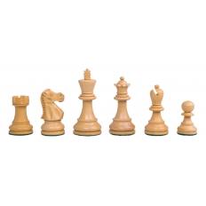 Schachfiguren Jaques Staunton Schwarz - 85mm