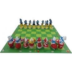 Schlümpfe Schachspiel