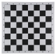 Schachplane Kunststoff [57CNK black]