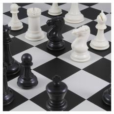 Schachspiel American Masters black - 50.5cm