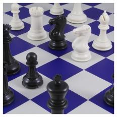 Schachspiel American Masters blue - 50.5cm