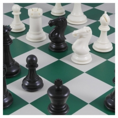 Schachspiel American Masters green - 50.5cm