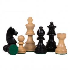 Schachfiguren Classic Staunton Schwarz - 70mm