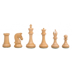 Schachfiguren Sinquefield Ebony - 95mm
