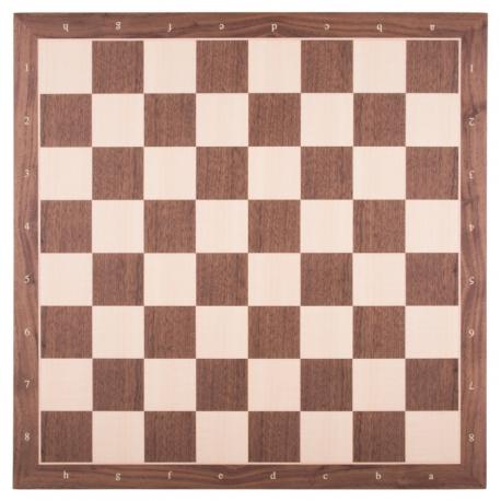 Schachbrett Nussbaum / Ahorn [50RFK]