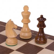 Schachspiel Advanced Nussbaum - 45cm