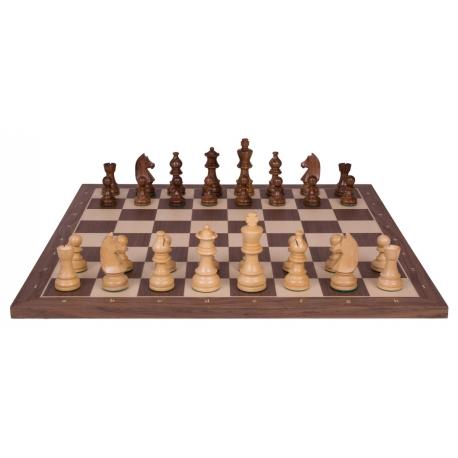 Schachspiel Advanced Nussbaum