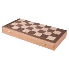 Schachkassette Nussbaum - 37.5cm