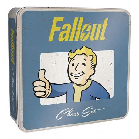 Schachspiel Fallout Collector's Set