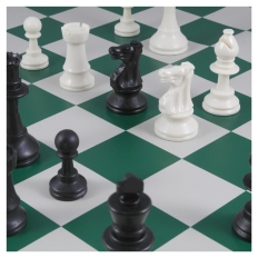 Schachspiel American green - 50.5cm