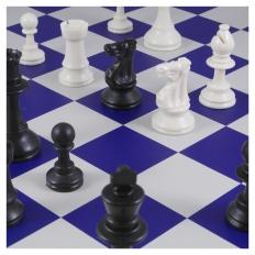 Schachspiel American blue - 50.5cm