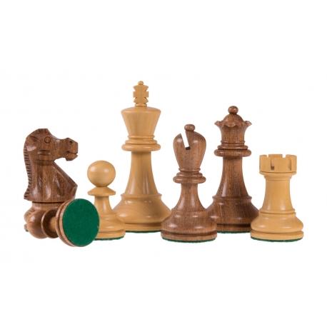 Schachfiguren Jaques Staunton Acacia - 95mm