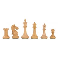 Schachfiguren Deluxe Staunton Padouk - 93mm
